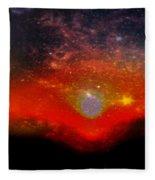 Clare Sunset Fleece Blanket