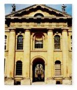 Clarendon Building, Broad Street, Oxford Fleece Blanket