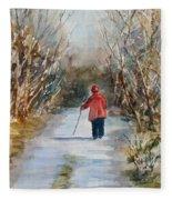 Clare's Lane Fleece Blanket