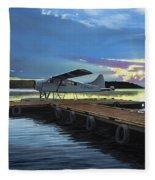 Clark's Air Service Fleece Blanket