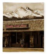 Clarks Old General Store Fleece Blanket