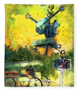 Clarksdale Authentic Madness Fleece Blanket