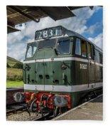Class 31 Diesel 3 Fleece Blanket