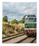 Class 31 Diesel 4 Fleece Blanket