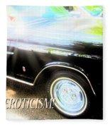Classic Automobile, Auto Eroticism Fleece Blanket