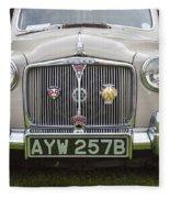 Classic Cars - Rover 110  Fleece Blanket