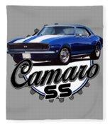 Classic Camaro Fleece Blanket