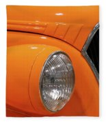 Classic Car Details Fleece Blanket