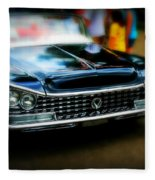 Classic Car Fleece Blanket