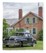 Classic Chrysler 1940s Sedan Fleece Blanket