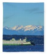 Classic Ferry Fleece Blanket