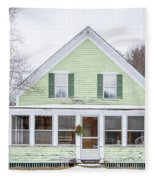 Classic New Englander Home Fleece Blanket