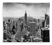 Classic New York  Fleece Blanket