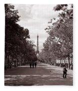 Classic Paris 10 Fleece Blanket