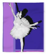 Classical Ballet Fleece Blanket