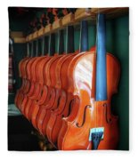 Classical Violins Fleece Blanket