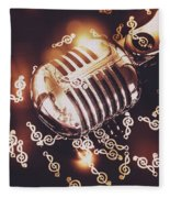Classics At The Audio Hall Fleece Blanket