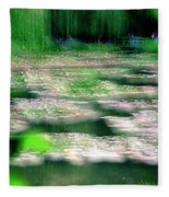 Claude Monets Water Garden Giverny 1 Fleece Blanket