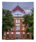 Clay County Courthouse Fleece Blanket