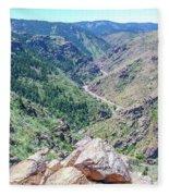 Clear Creek Canyon Fleece Blanket