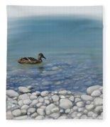 Clear Water  Fleece Blanket