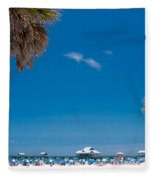 Clearwater Beach Fleece Blanket