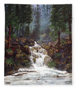 Clearwater Falls Fleece Blanket