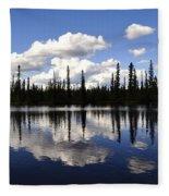 Clearwater Reflections Fleece Blanket