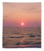 Clearwater Sunset Fleece Blanket