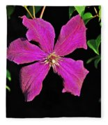 Clematis 2598 Fleece Blanket
