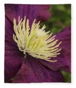 Clematis 4000 Fleece Blanket
