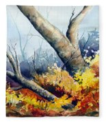 Cletus' Tree Fleece Blanket