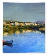 Clifden Harbour Fleece Blanket
