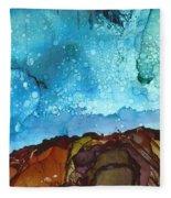 Cliff Diver Fleece Blanket