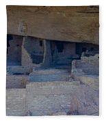 Cliff Dwellers Panoramic Fleece Blanket