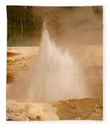 Cliff Geyser Fleece Blanket