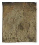 Cliff Trees Fleece Blanket