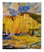 Cliffs 1883 Fleece Blanket
