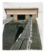 Clifton Suspension Bridge Fleece Blanket