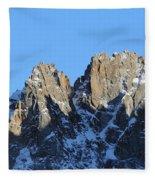 Climbers Sunlit Challenge Fleece Blanket