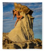 Climbing Fleece Blanket