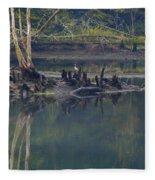 Clinch River Beauty Fleece Blanket