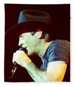 Clint Black-0840 Fleece Blanket