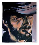 Clint Eastwood Fleece Blanket