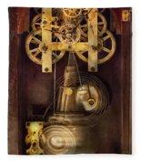 Clockmaker - The Mechanism  Fleece Blanket