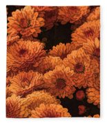 Clockwork Orange Fleece Blanket