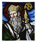 Clogheen, Ireland St. Patrick On Fleece Blanket