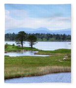 Cloonee Lough - Ireland Fleece Blanket
