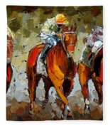 Close Race Fleece Blanket