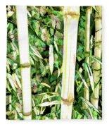Close Up Big Fresh Bamboo Fleece Blanket